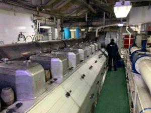 Régulation de vitesse dans le secteur maritime