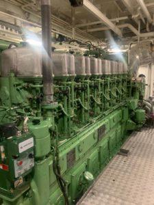 Régulateur Woodward moteur