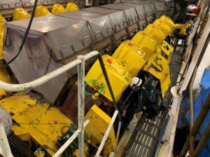 Intervention Brittany Ferries régulation de vitesse