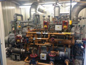 assistance technique sur un régulateur woodward dans un site industriel